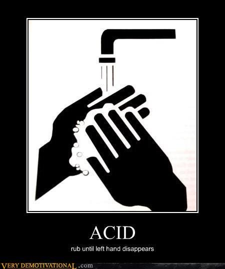 demotivational posters acid