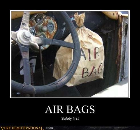 demotivational posters air bags