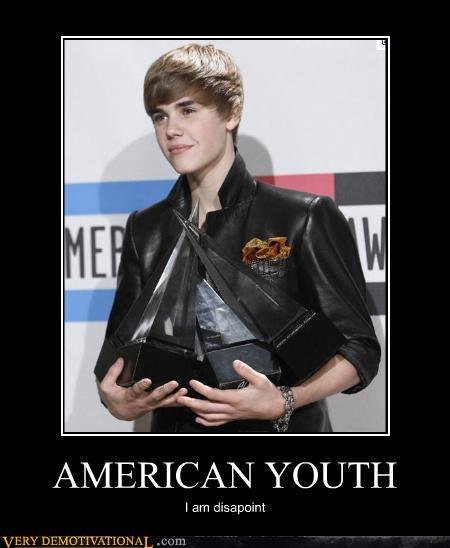 demotivational posters american youth
