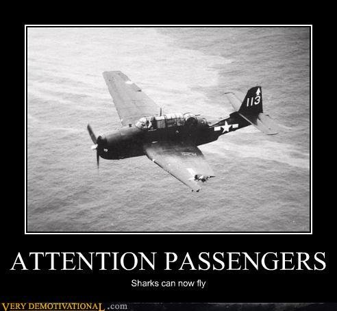 demotivational posters attention passengers