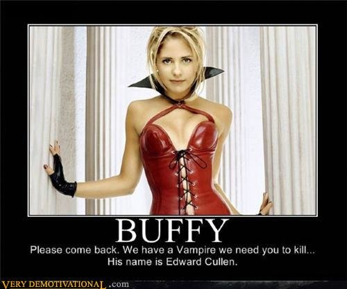 demotivational posters buffy
