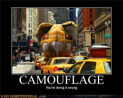 demotivational posters camouflage