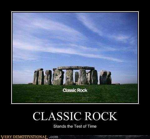 demotivational posters classic rock