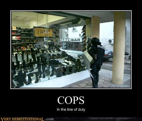 demotivational posters cops