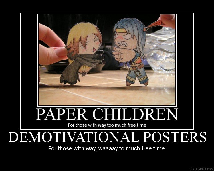 demotivational posters darkkitsunegirl
