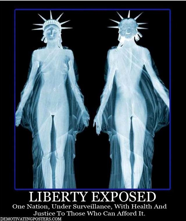 demotivational posters demotivating posters funny posters posters poster liberty exposed tsa