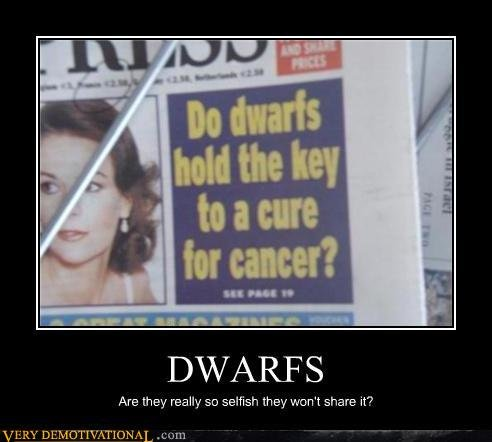 demotivational posters dwarfs