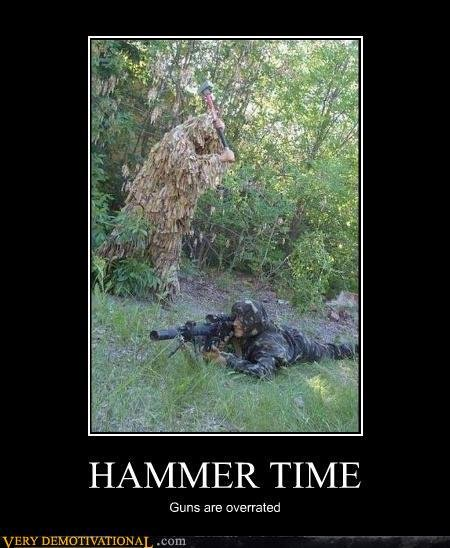 demotivational posters hammer time