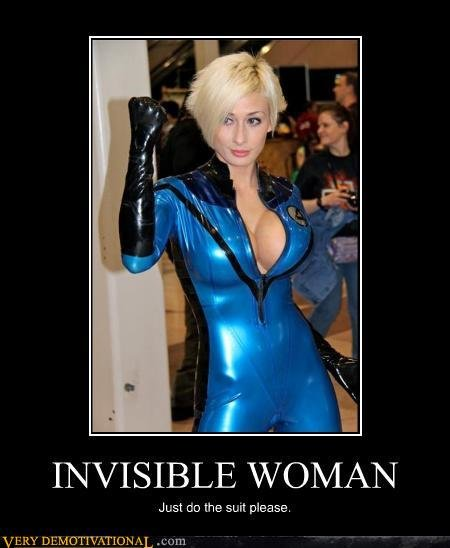 demotivational posters invisible woman