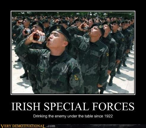 demotivational posters irish special forces