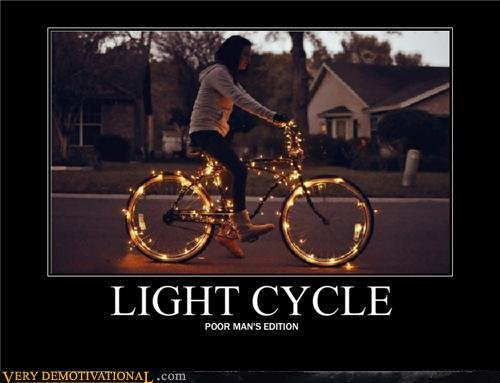 demotivational posters light cycle