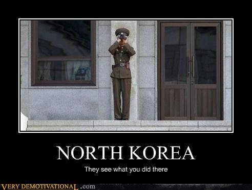 demotivational posters north korea