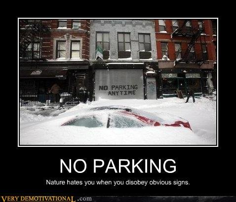 demotivational posters parking