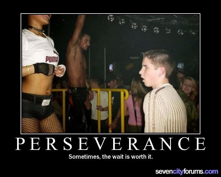 demotivational posters perserverance