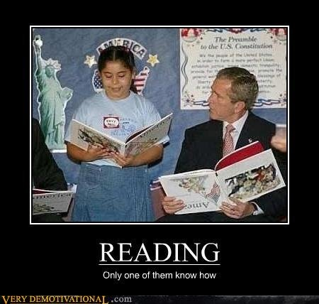 demotivational posters reading