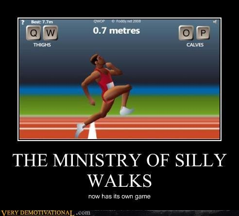 demotivational posters ministry silly walks
