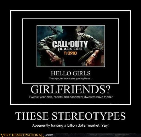 demotivational posters these stereotypes