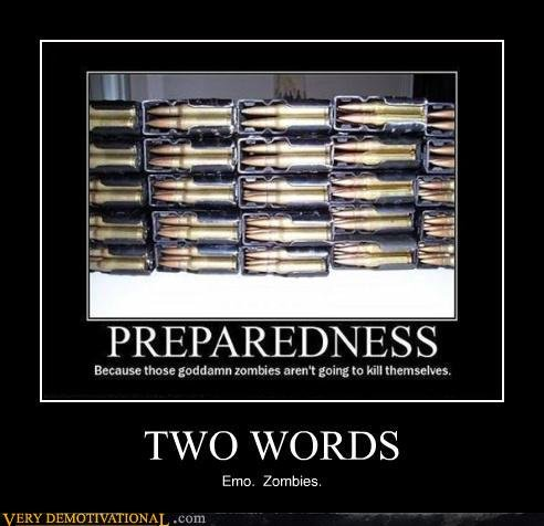 demotivational posters two words