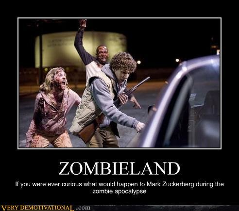 demotivational posters zombieland