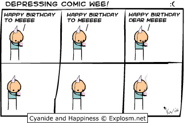 derme - cyanide and hapiness depressing comic week 1