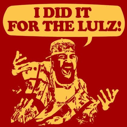 did for lulz funny shirt