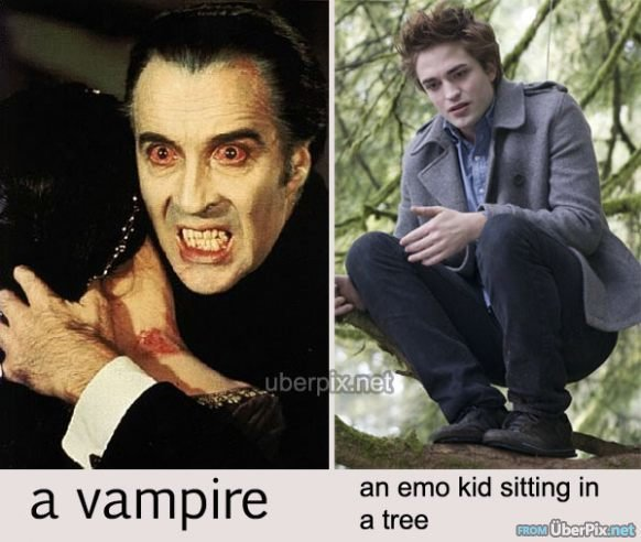 difference between emo vampire