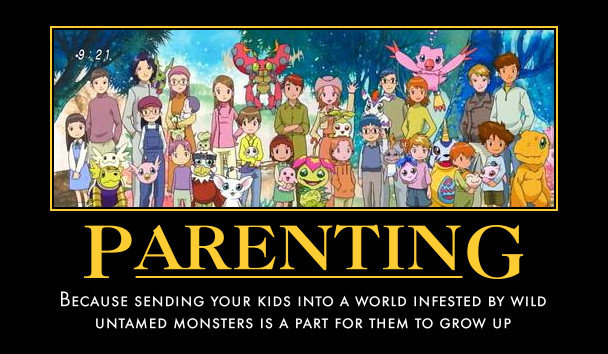 digimon parenting