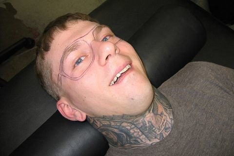 dipshit4 - eyeglasses tattoo