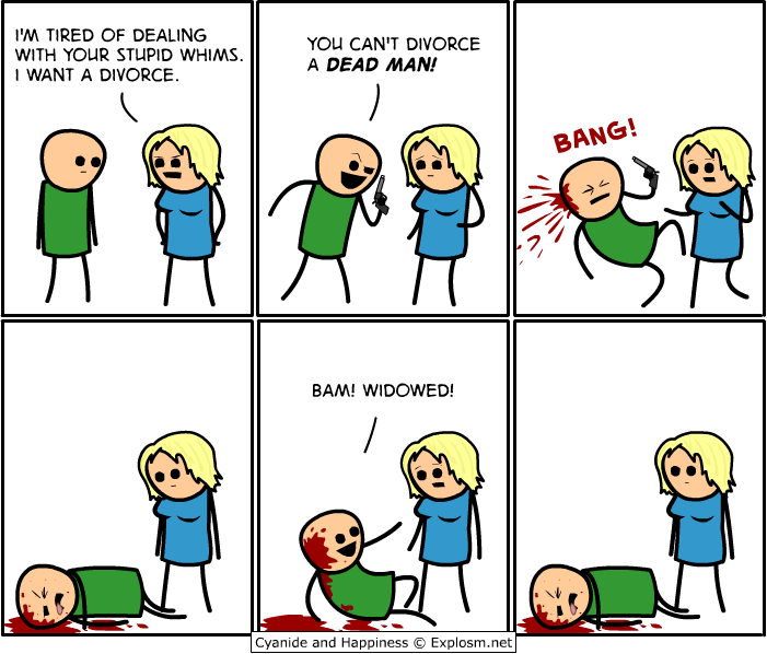 divorce2 - 50 more cyanide & happiness comic's