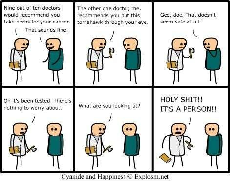 doctor - on a lighter note...