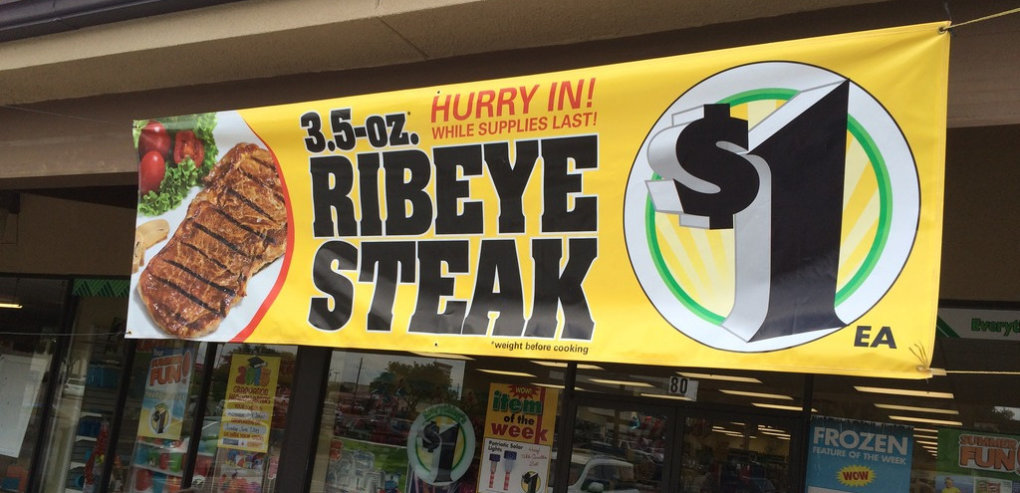 dollar steaks