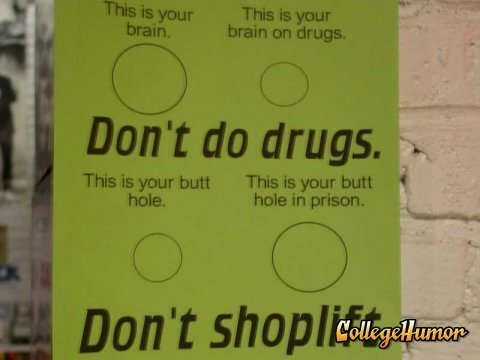 dont drugs