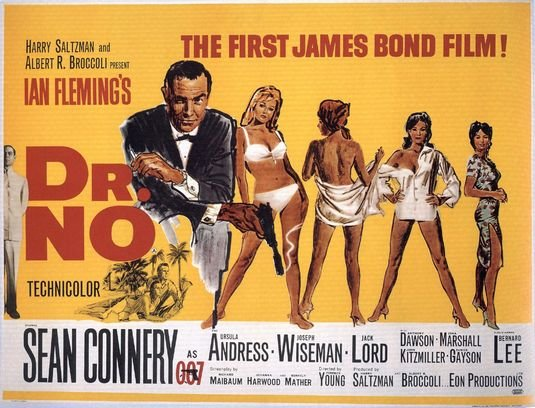 dr no - what are your top five bond movie