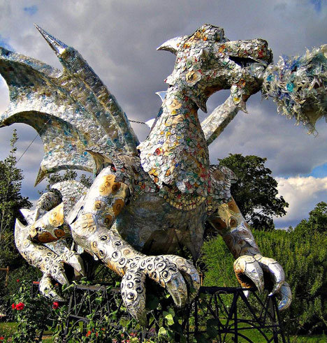 dragon - epic sculptures