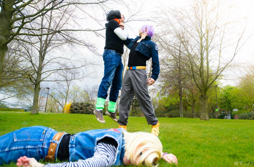 dragon ball cosplay androids