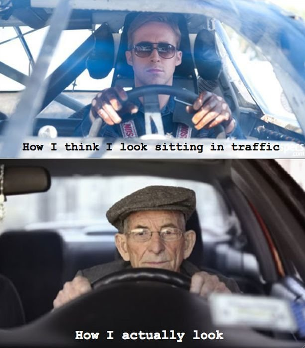 driving - expectations vs reality