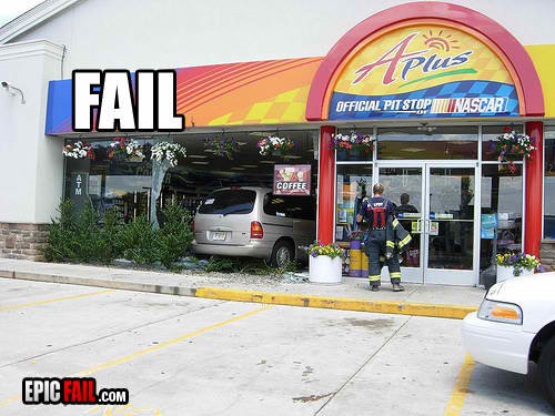 driving fail sunoco