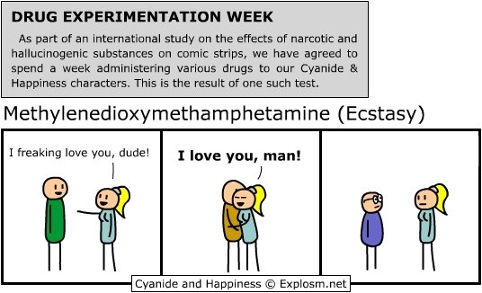 drug experimentation cyanide happiness