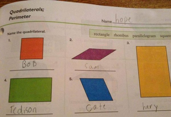 e74b97232e6179d16aeba2404db2935c - kids with creative but not correct test answers