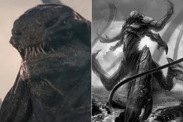 early concept art movie characters