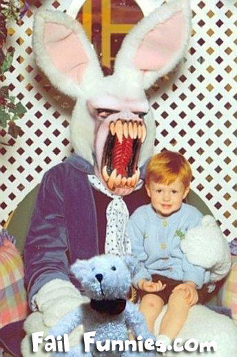 easter evil bunny funny