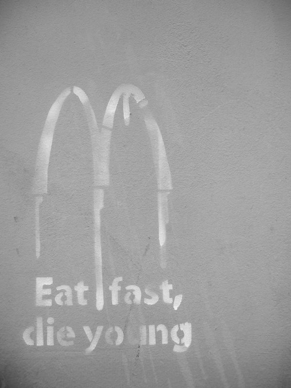 eat fast die young zyzas