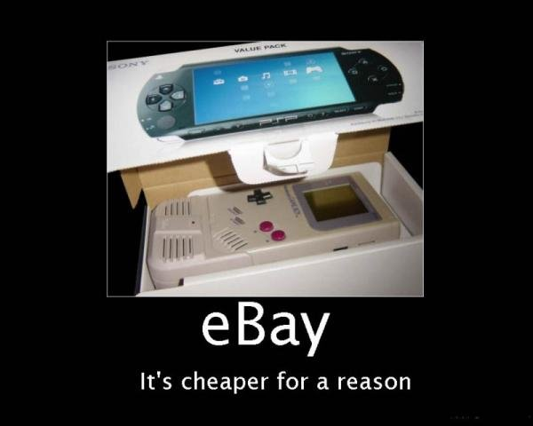 ebay cheaper for reason