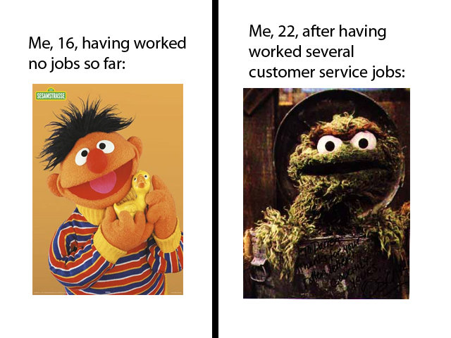 effects customer service jobs