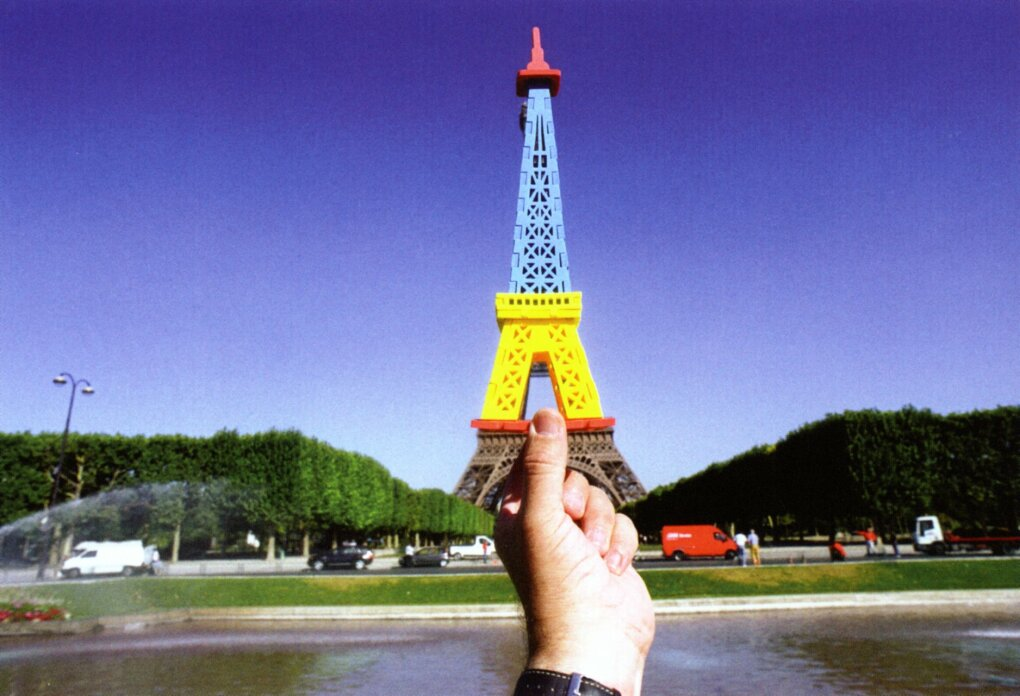 eiffel - are souvenirs out of sight?