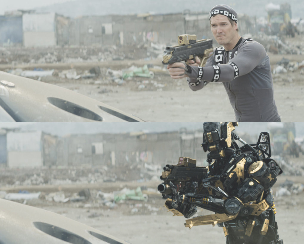 elysium1 - would you watch these movies without any special effects?