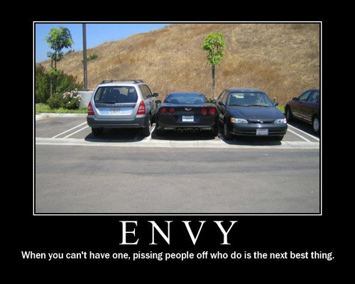 envy - more modivational and demodivational posters!