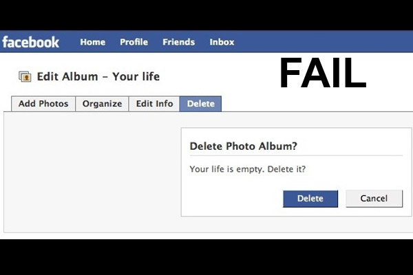 epic facebook fail