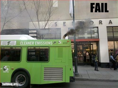 epic fail cleaner emission fail