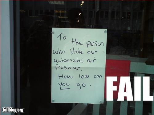 epic fail thief fail